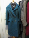 Blue & Green woven vintage jacket $45.00
