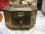 Vintage brass chineese cricket box $ 7.00