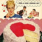 Vintage-Valentines-Day-Ads are so corny & cute.