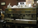 3 head espresso maker with pressure adjustment, Italy,more able to control the cupping